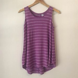 Old Navy Striped Luxe Tank Top